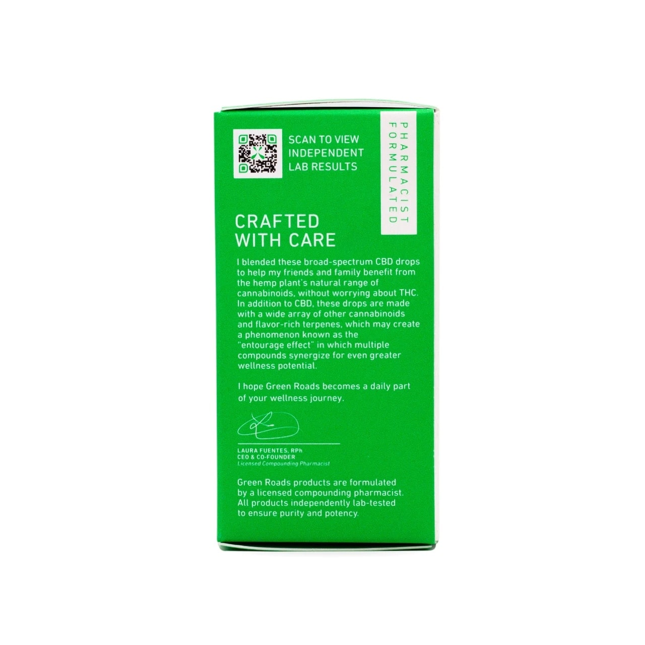 Green Roads, CBD Oil, Broad Spectrum THC-Free, Natural Flavor, 1oz, 10MG:ML, 300mg of CBD3