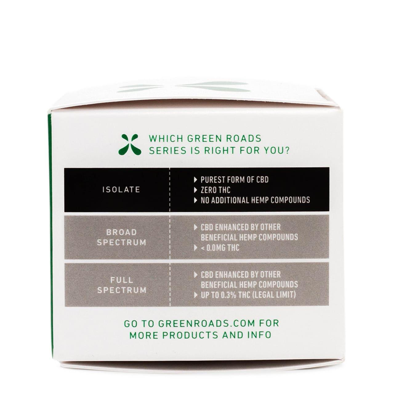 Green Roads, CBD Softgels, Isolate THC-Free, 30 count, 750mg of CBD3 (1)