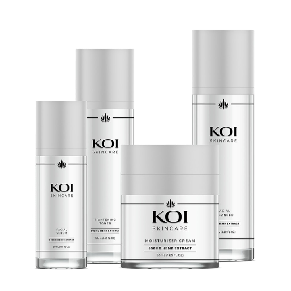 Koi Skincare, CBD Tightening Toner, Full Spectrum, 1.69oz, 500mg of CBD3
