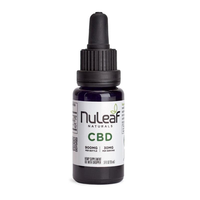 NuLeaf Naturals, Hemp CBD Oil, Full Spectrum, 15mL, 900mg of CBD2