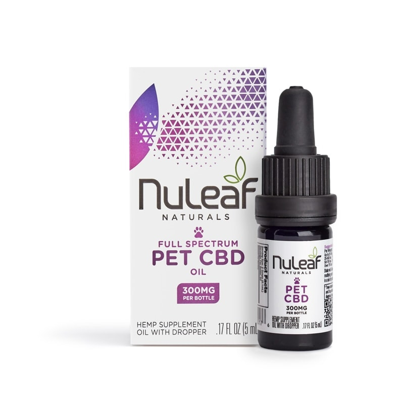 NuLeaf Naturals, Pet CBD Oil, Full Spectrum, 5mL, 300mg of CBD2