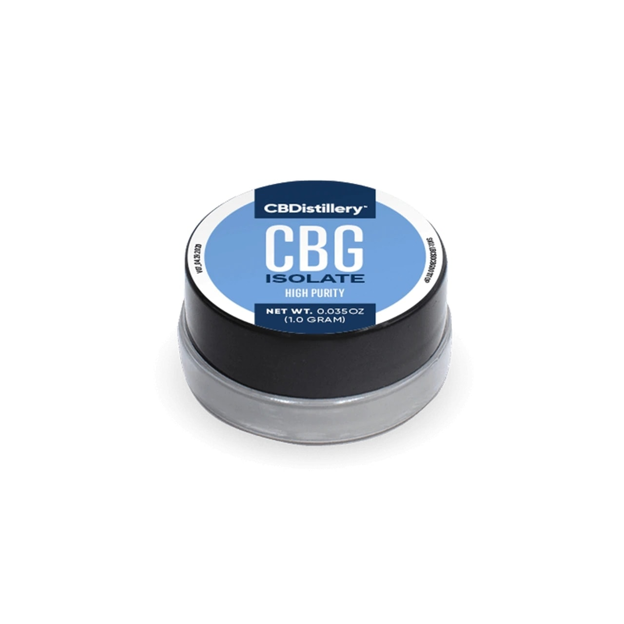 CBDistillery, CBG Isolate High Purity Powder, 1g, 970mg of CBG2