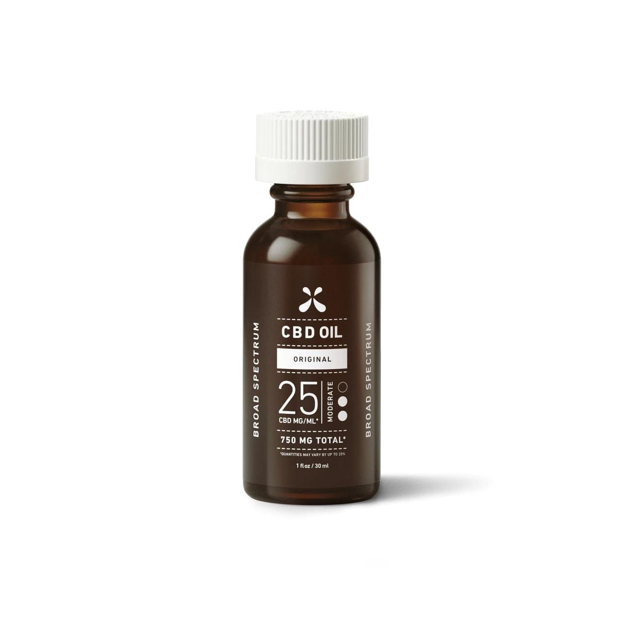Green Roads, CBD Oil, Broad Spectrum THC-Free, Natural Flavor, 1oz, 25MG:ML, 750mg of CBD3