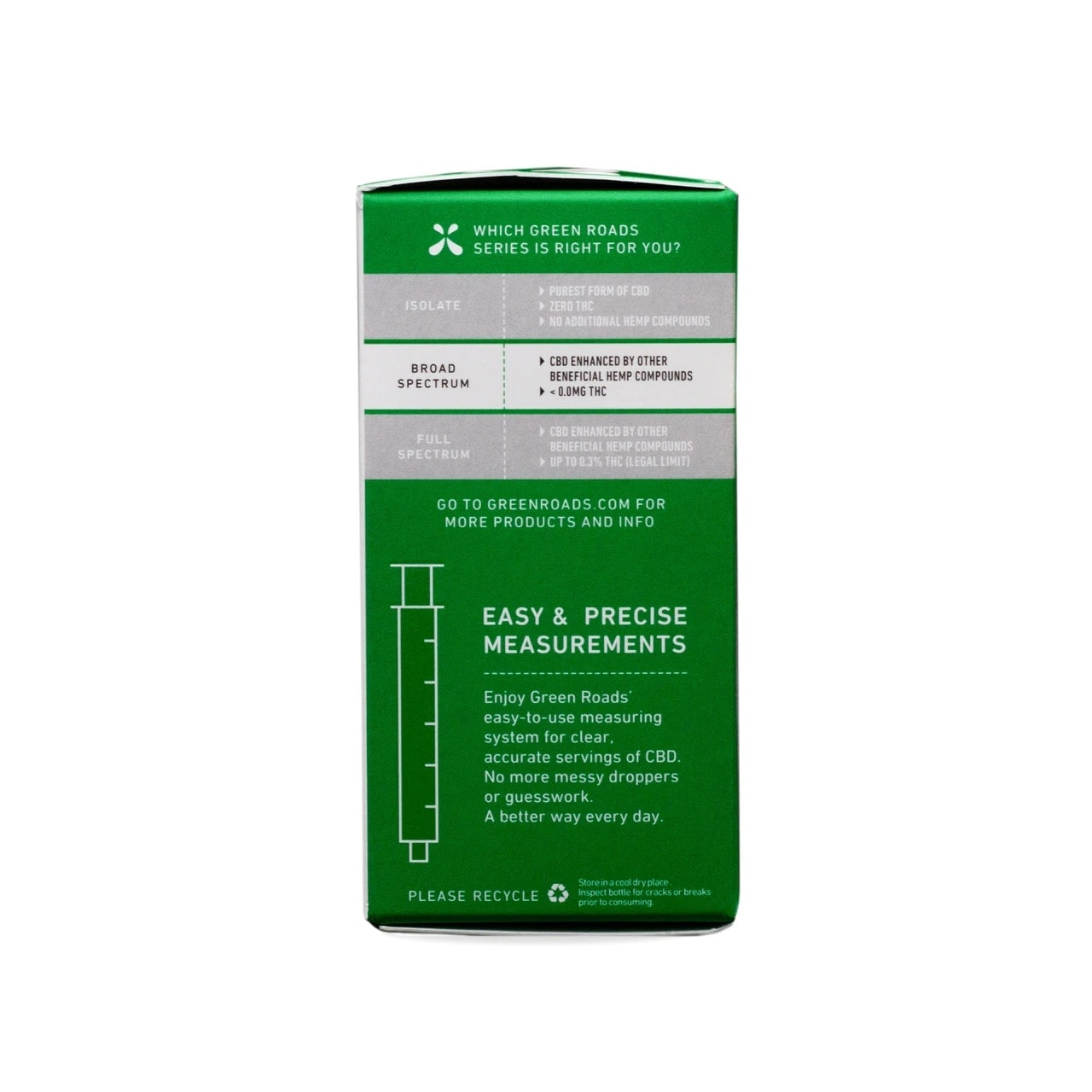 Green Roads, CBD Oil, Broad Spectrum THC-Free, Natural Flavor, 1oz, 25MG:ML, 750mg of CBD5