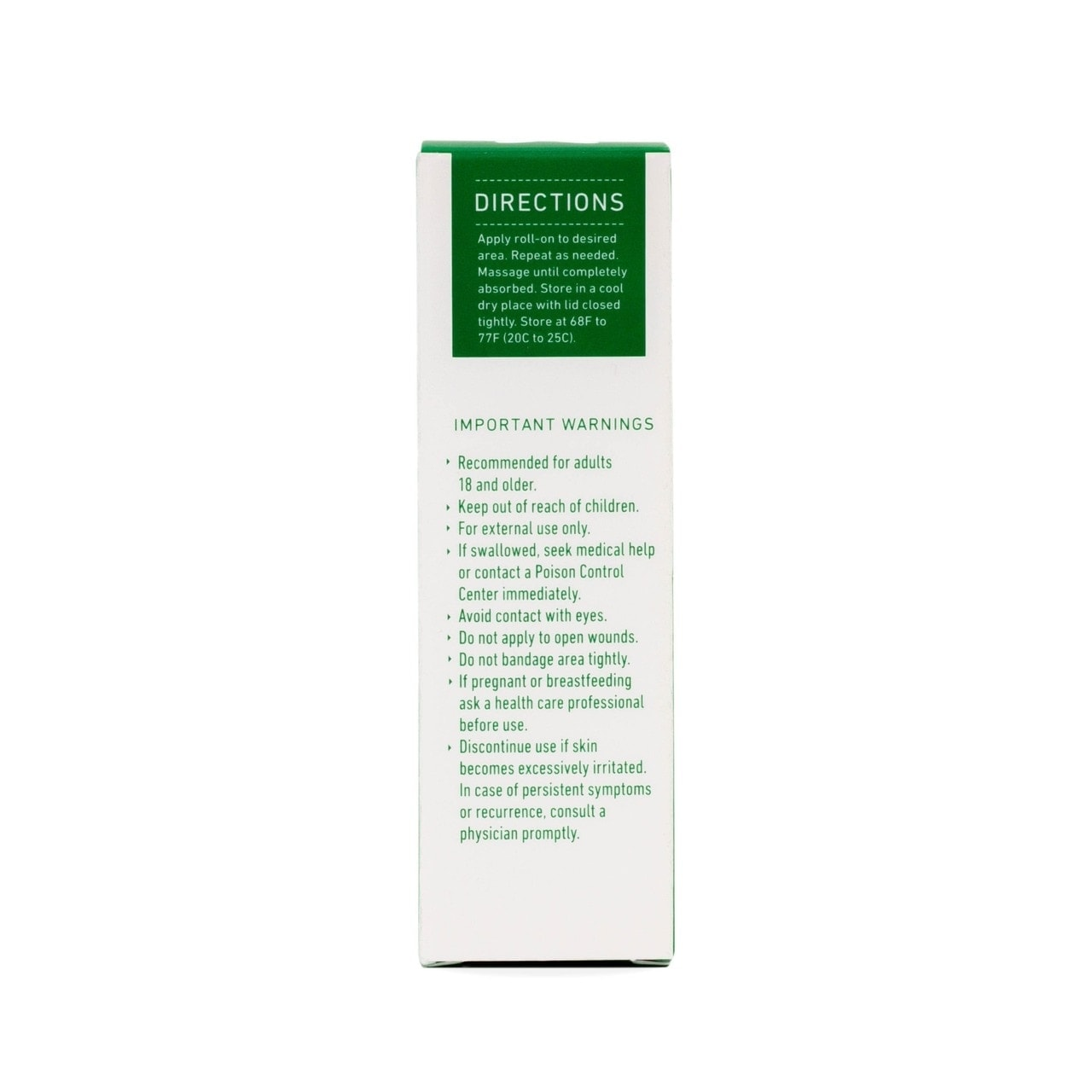 Green Roads, Cool Relief CBD Roll-On, 1oz, 750mg of CBD4