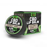 Hemp Bombs, CBD Lip Balm, Coconut Vanilla, 0.25oz, 125mg of CBD
