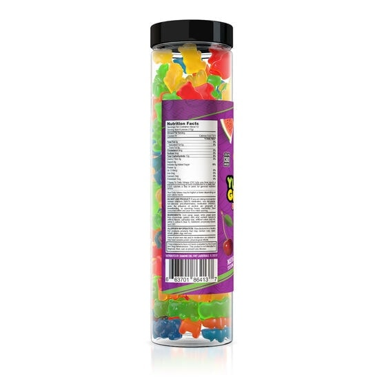Yum Yum Gummies, CBD Gummy Bears, Fruit Mix, Full Spectrum, 500mg of CBD3