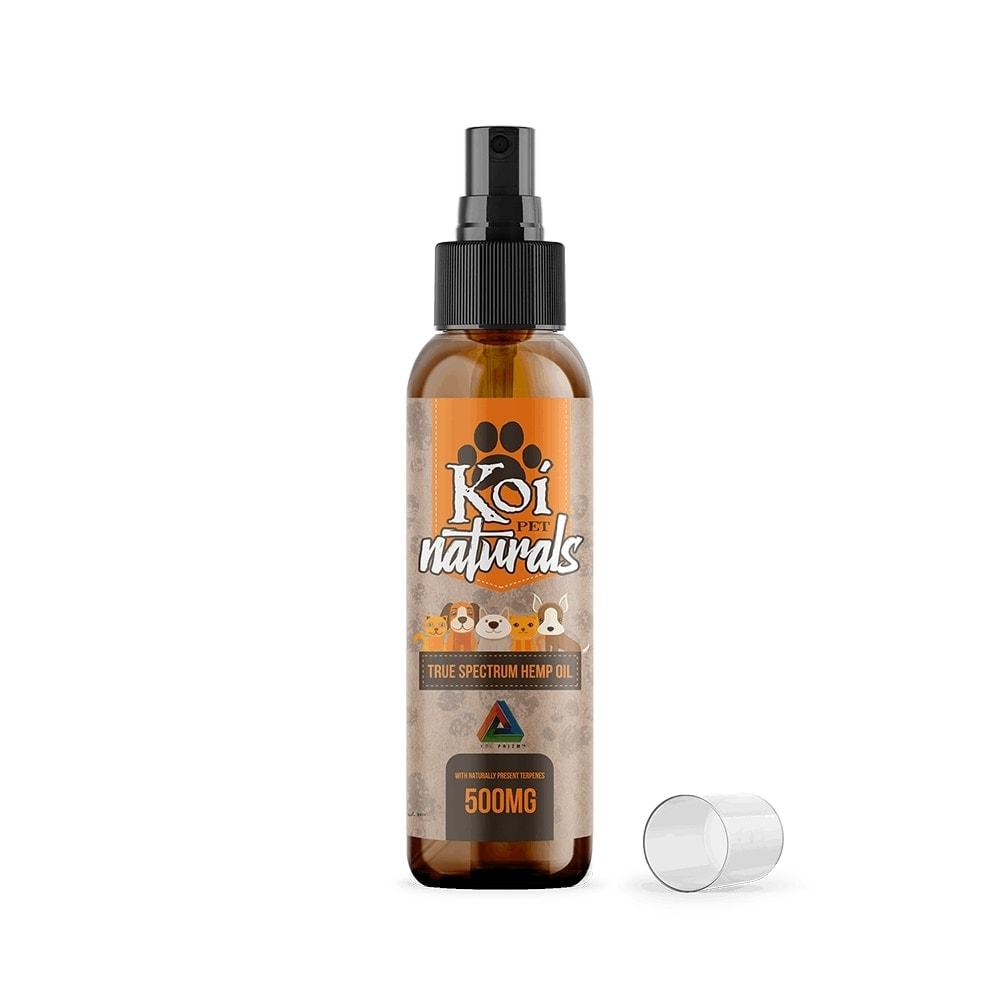 Koi CBD, Hemp Extract CBD Pet Spray, 2.7oz, 500mg of CBD