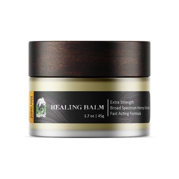 Koi CBD, Hemp Extract Healing CBD Balm, 1.7oz, 1000mg of CBD