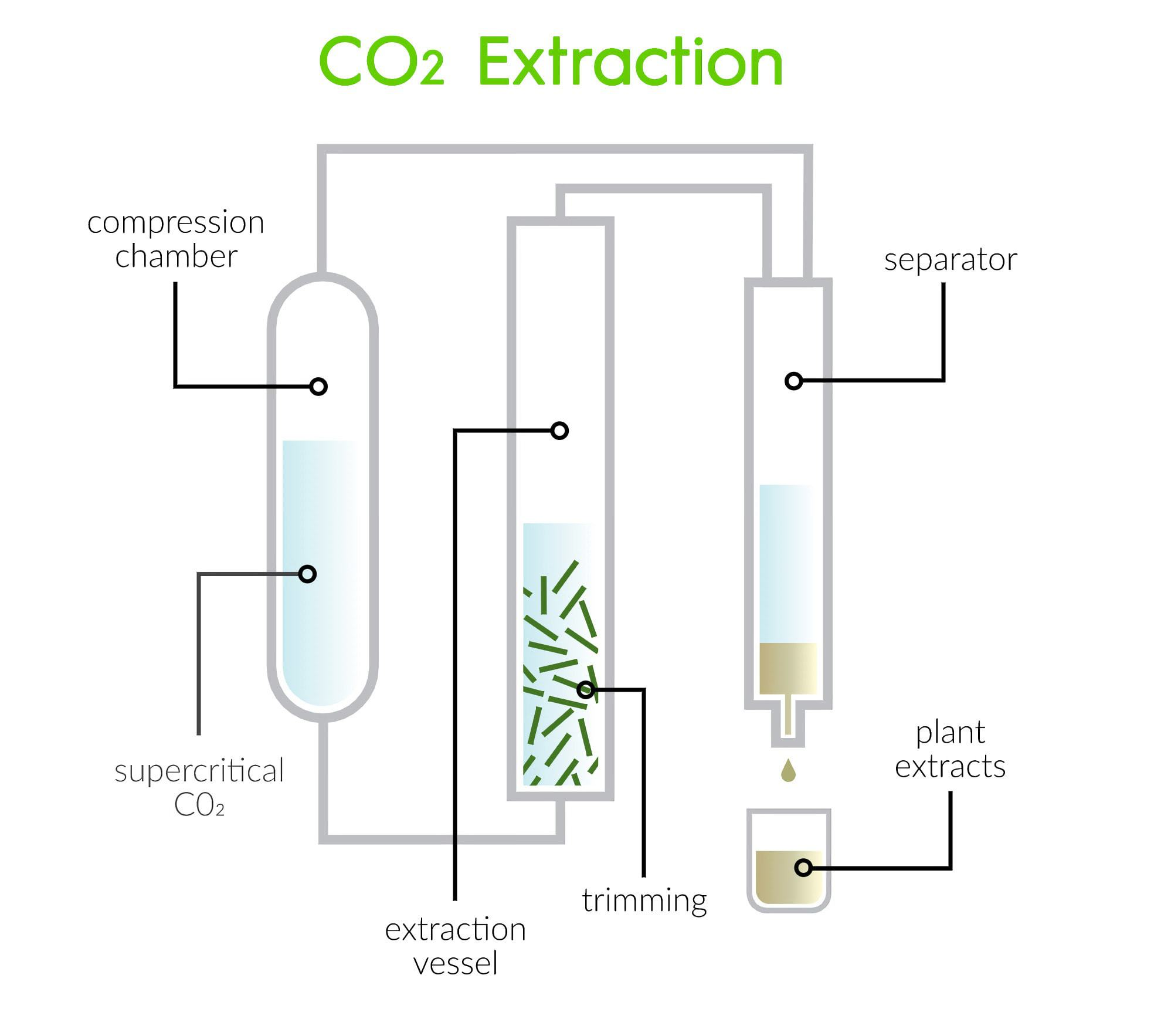 CO2 Extraction Method