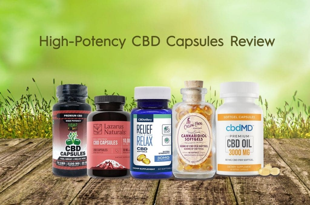 High-Potency CBD Capsules Review