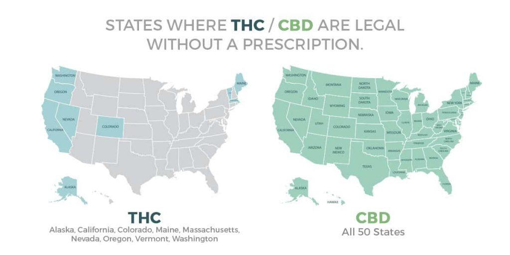 Is CBD Legal Everywhere?