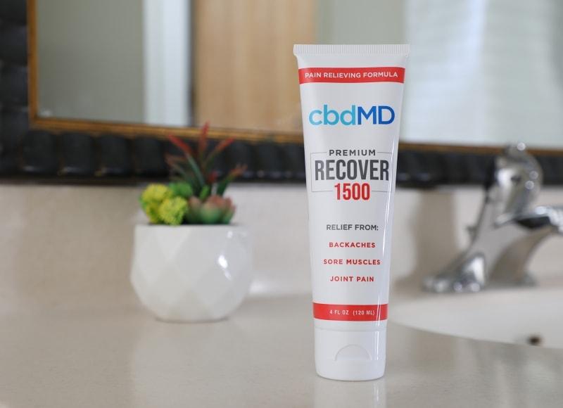 cbdMD, CBD Recover Squeeze, Broad Spectrum THC-Free, 4oz, 1500mg CBD 3