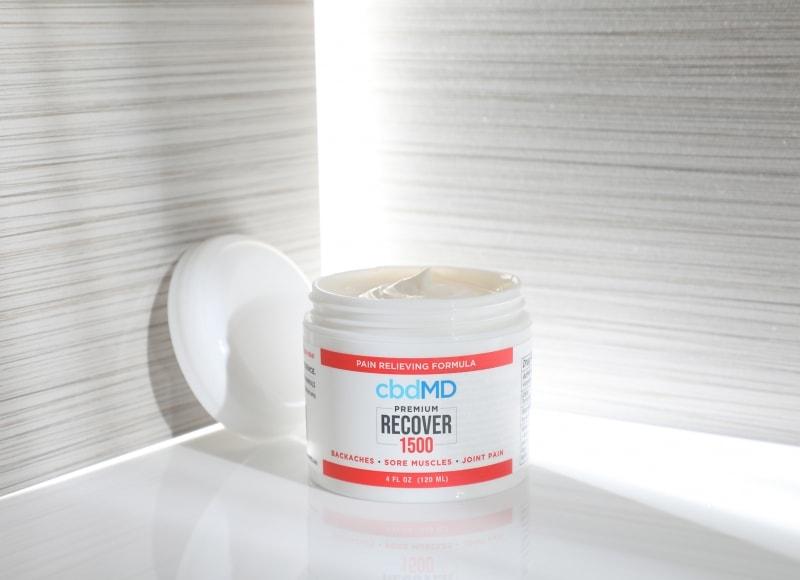 cbdMD, CBD Recover Tub, Broad Spectrum THC-Free, 4oz, 1500mg CBD 3