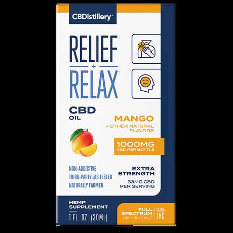 CBDistillery, CBD Oil, Full Spectrum, Mango Flavor, 1oz, 1000mg of CBD 3