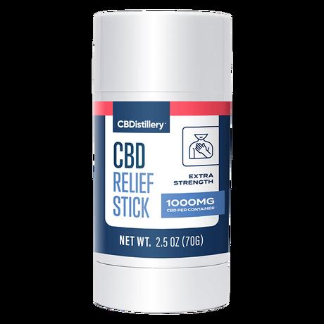 CBDistillery, CBD Relief Stick, Isolate THC-Free, 1000mg CBD 2