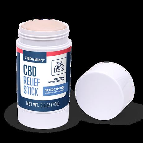 CBDistillery, CBD Relief Stick, Isolate THC-Free, 1000mg CBD 3