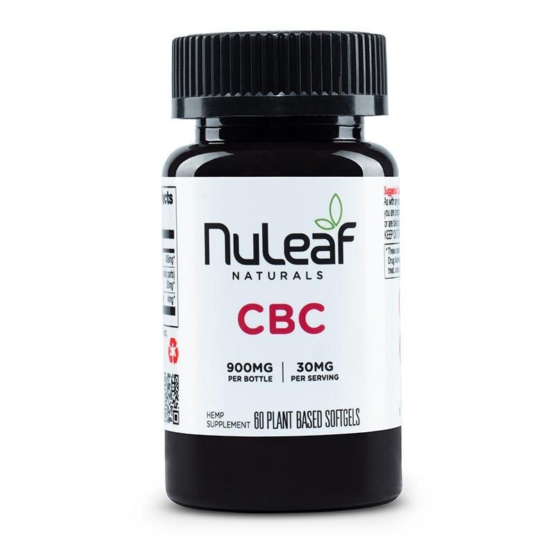 NuLeaf Naturals, CBC Capsules, Full Spectrum, 60 Softgels, 900mg CBC 1