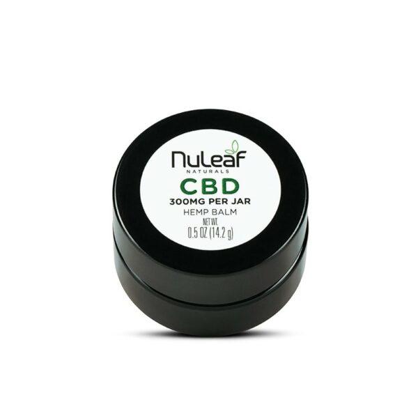 NuLeaf Naturals, CBD Balm, Full Spectrum, 0.5oz, 300mg CBD