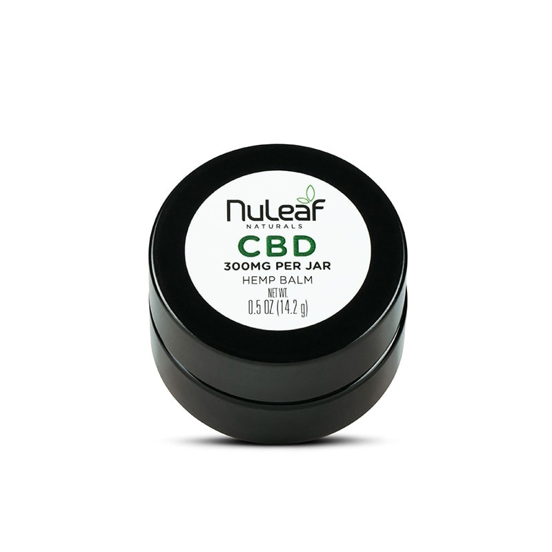 NuLeaf Naturals, CBD Balm, Full Spectrum, 0.5oz, 300mg CBD 1
