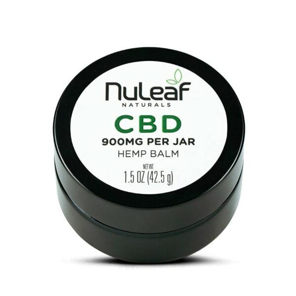 NuLeaf Naturals, CBD Balm, Full Spectrum, 1.5oz, 900mg CBD