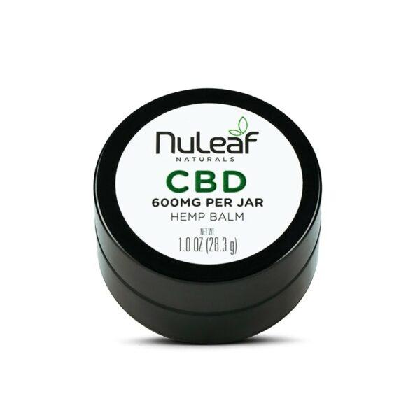 NuLeaf Naturals, CBD Balm, Full Spectrum, 1oz, 600mg CBD