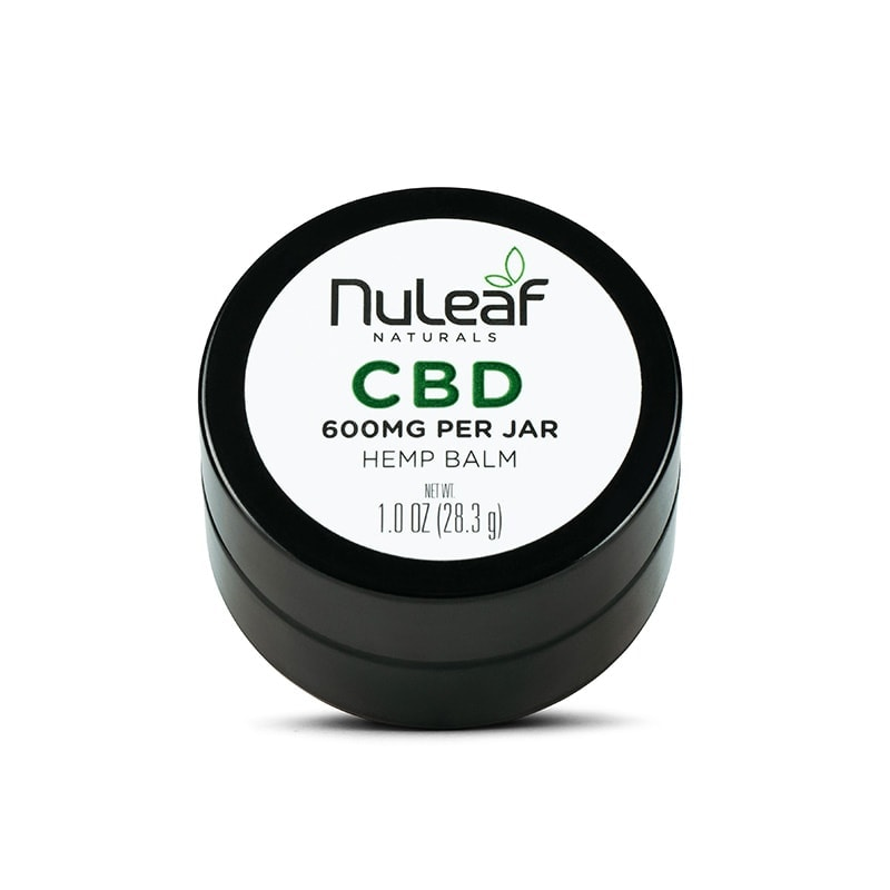 NuLeaf Naturals, CBD Balm, Full Spectrum, 1oz, 600mg CBD 2