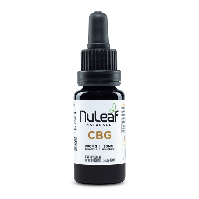 NuLeaf Naturals, CBG Oil, Full Spectrum, 15mL, 900mg CBG 1