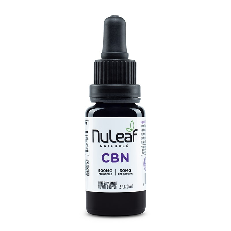 NuLeaf Naturals, CBN Oil, Full Spectrum, 15mL, 900mg CBN 1