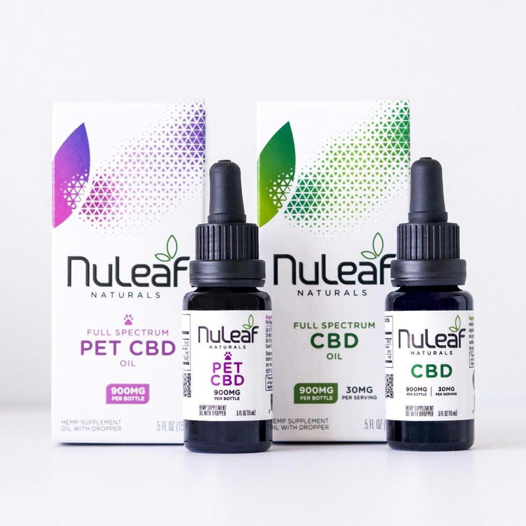 NuLeaf Naturals CBD Oil and Pet CBD Oil