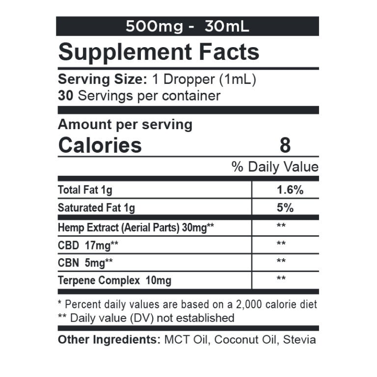 CBDfx, CBD + CBN Oil Calming Tincture, Full Spectrum, 1oz, 150mg CBN + 500mg CBD 2