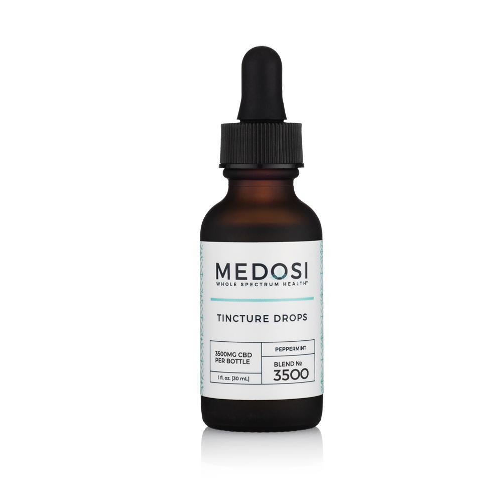 Medosi, CBD Oil Tincture, Full Spectrum, Peppermint, 1oz, 3500mg CBD 2