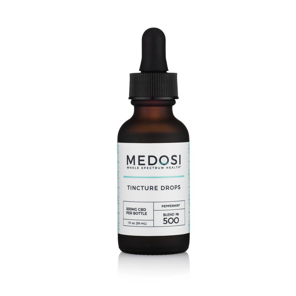 Medosi, CBD Oil Tincture, Full Spectrum, Peppermint, 1oz, 500mg CBD 2