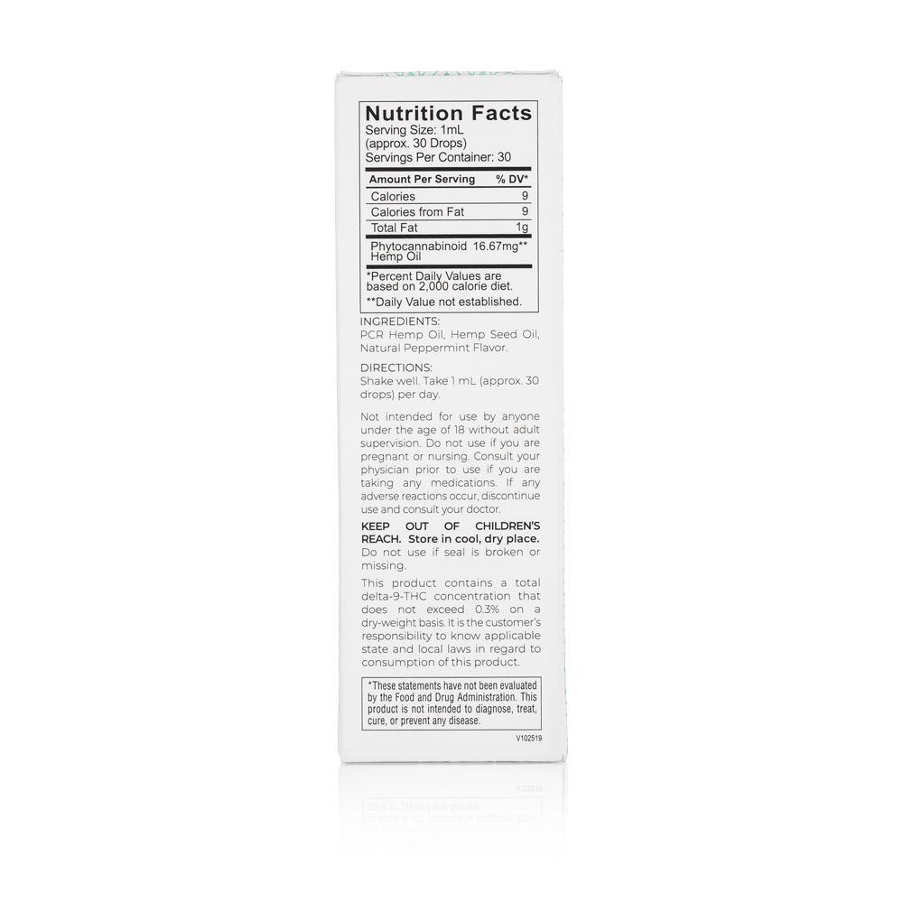 Medosi, CBD Oil Tincture, Full Spectrum, Peppermint, 1oz, 500mg CBD 3
