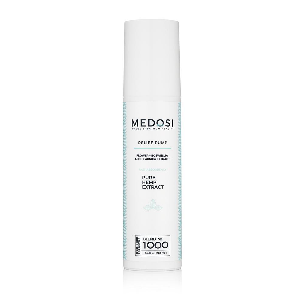 Medosi, CBD Relief Cream, THC-Free, 3.4oz, 1000mg CBD 1