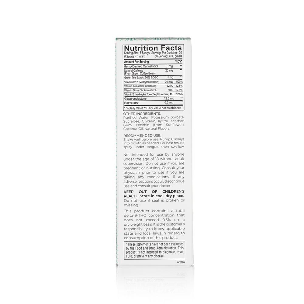 Medosi, Energy Spray, THC-Free, 1oz, 180mg CBD 3