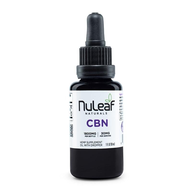 NuLeaf Naturals, CBN Oil, Full Spectrum, 30mL, 1800mg CBN 1