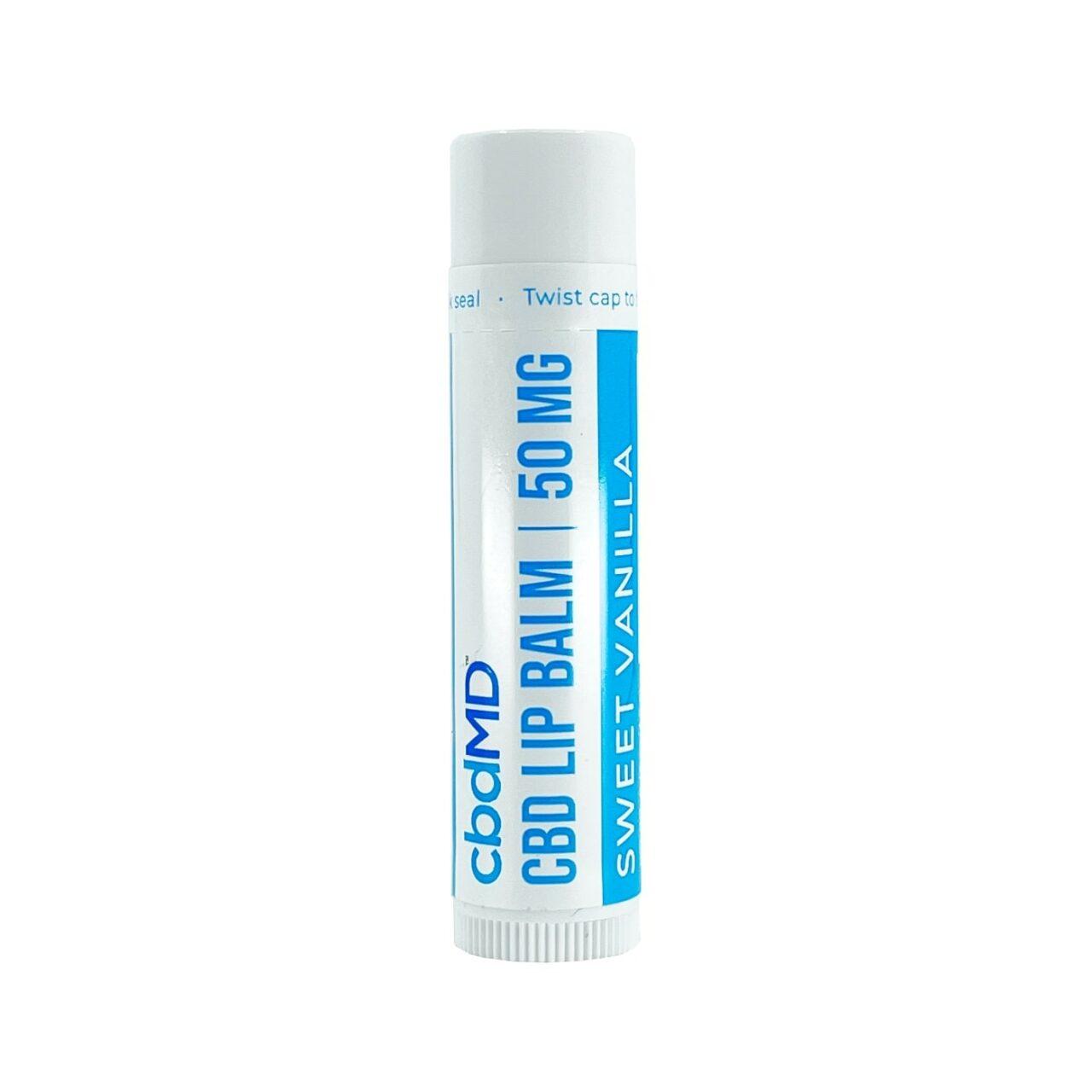 cbdMD, CBD Lip Balm, Broad Spectrum THC-Free, Sweet Vanilla, 50mg CBD2