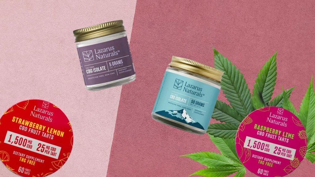 Find More Lazarus Naturals Products Online at CBD.market
