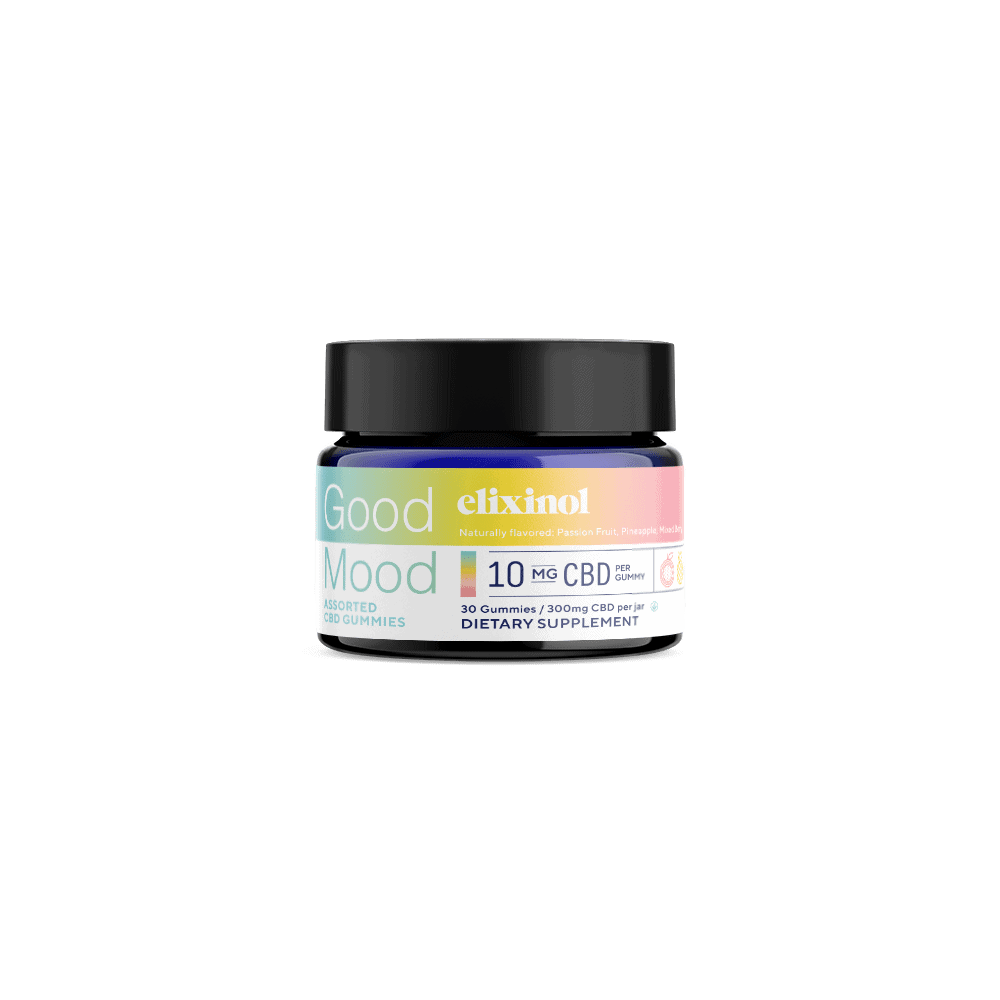 Elixinol, Good Mood CBD Gummies, Full Spectrum, Assorted, 30ct, 300mg CBD 2