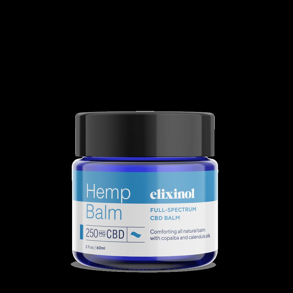 Elixinol, Hemp CBD Balm, Full Spectrum, 2oz, 250mg CBD 2