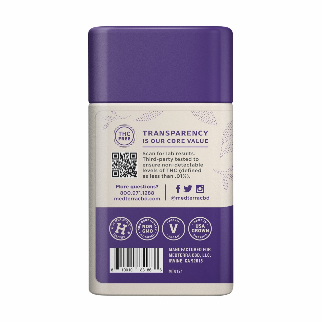 Medterra, Wellness CBD Gummies, Immune Boost, Broad Spectrum THC-Free, Elderberry, 30ct, 750mg CBD 3