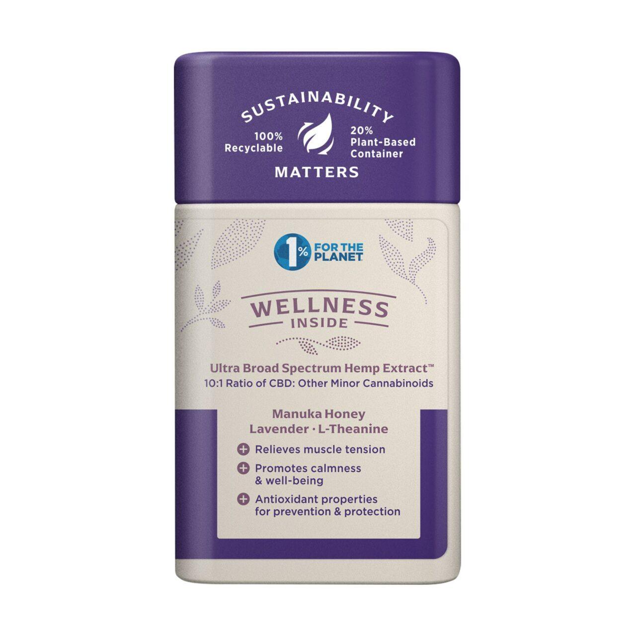 Medterra, Wellness CBD Gummies, Stress Support, Broad Spectrum THC-Free, Strawberry, 30ct, 750mg CBD 2