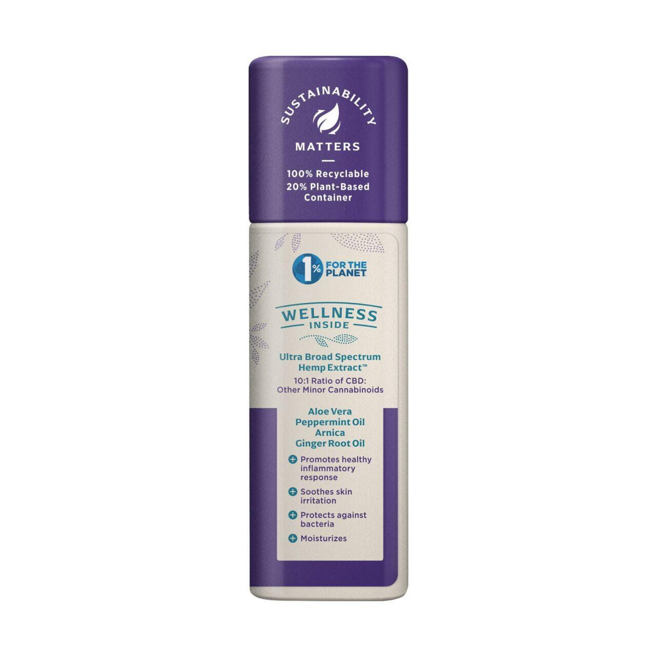 Medterra, Wellness Nature's Relief Daily CBD Cream, Broad Spectrum THC-Free, 1.7oz, 1000mg CBD 2