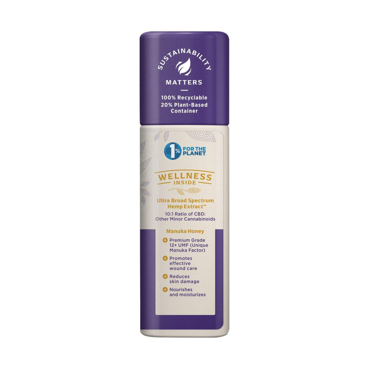 Medterra, Wellness Soothing CBD Cream, Manuka Honey, Broad Spectrum THC-Free, 1.7oz, 250mg CBD 2
