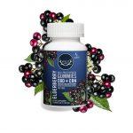 Wyld CBD, Elderberry Gummies, Broad Spectrum THC-Free, 20ct, 100mg CBN + 500mg CBD