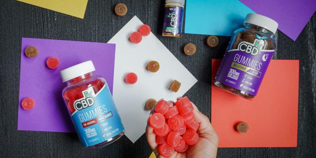 CBD Content in CBD Edible Products (Capsules, Gummies Snacks)