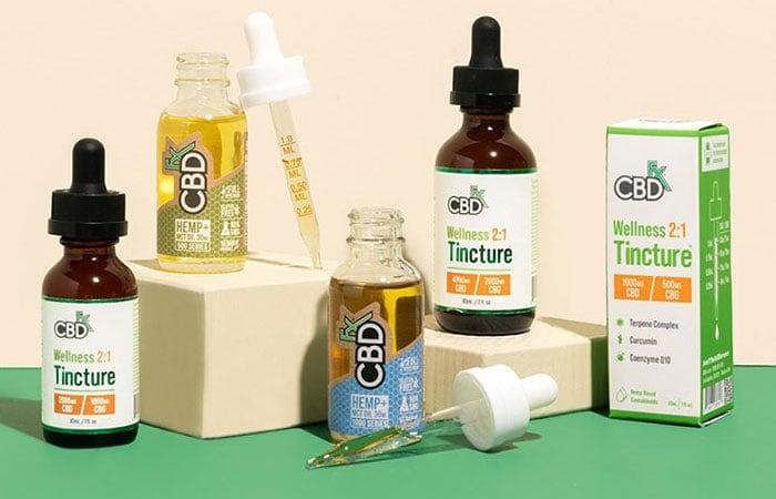 CBDfx CBD Oil Tinctures