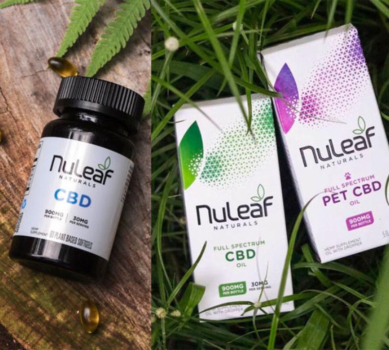 NuLeaf Naturals CBD Oil Products