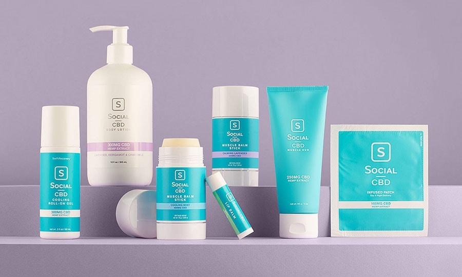 Social CBD Topical Products